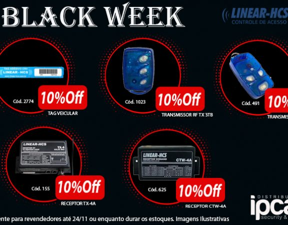 black week chamada ind. Linear 2 - Face