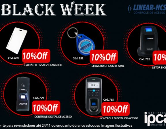black week chamada ind. Linear - FACE